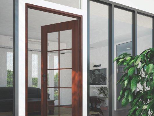 ไม้วงกบประตู คอนวูด รุ่นคลาสสิค กว้าง 90 ซม.